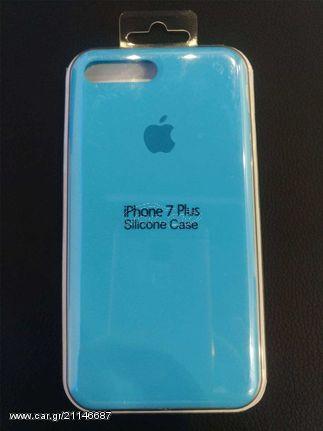 pretty nice 26502 0ef79 Apple OEM Silicone Case - for iPhone 7 Plus/8 Plus Sky Blue - € 14,90 -  Car.gr