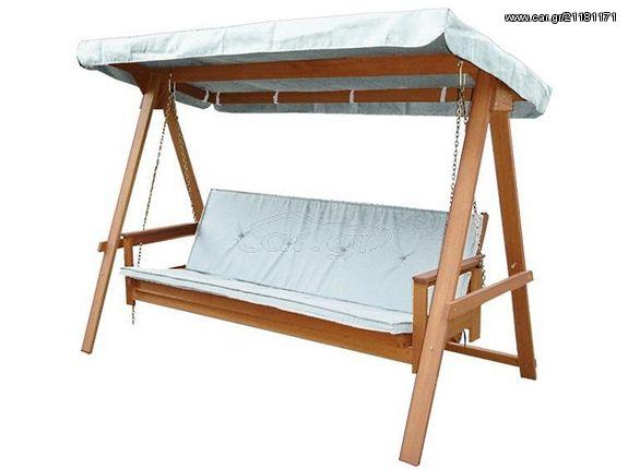 c1c020b2f59 Κούνια κρεβάτι ξύλινη για κήπο βεράντα τριθέσια - € 499 EUR - Car.gr
