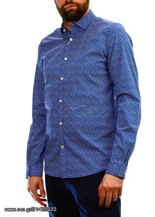 dccf564e1588 Ανδρικό Πουκάμισο Tom Tailor Fitted Stretch Shirt Casual Blue Παλιά  Σχεδίαση. Previous
