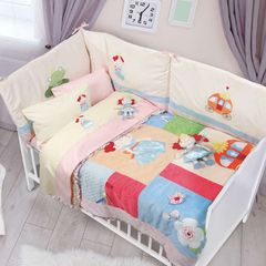 42a42793e46 Βρεφικά Σεντόνια Σετ Baby 6511 Dream Embroidery Pink Das Home Κούνιας -  120x160cm