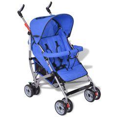 bc3ec2dd6f6 Καρότσι Περιπάτου Παιδικό με Ρύθμιση 5 Θέσεων Μπλε vidaXL 10059 Καρότσι  Περιπάτου Παιδικό με Ρύθμιση 5 Θέσεων Μπλε vidaXL 10059