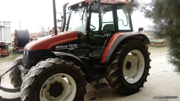 New Holland Ts110 '99 - € 18 000 - Car gr