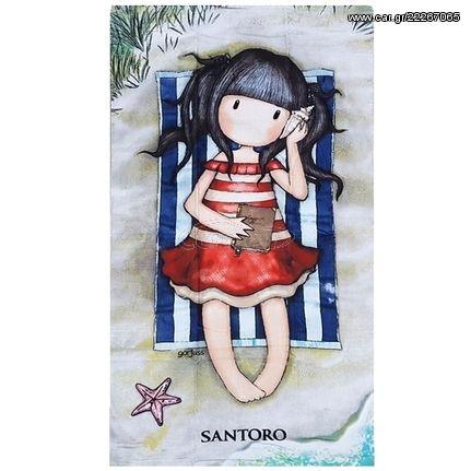 2960524eb3e Πετσέτα Θαλάσσης 75Χ150cm Santoro Gorjuss Summer Days SA91003 Παλιά Σχεδίαση