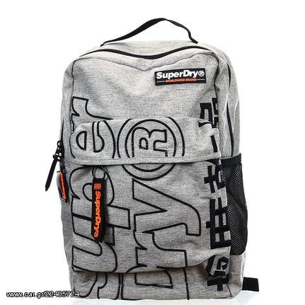 047984bf5c Σακίδιο Πλάτης Superdry Academic Backpack Light Grey - € 48 EUR - Car.gr