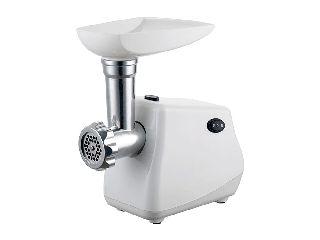 89a232b1905 Muhler Κουζινομηχανή 600 Watt, Μηχανή κοπής κιμά, παρασκευής χυμού ντομάτας  και λουκάνικων, Λευκό