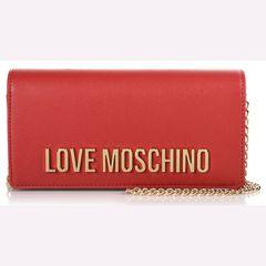 a6f07c6c1a Love Moschino Γυναικείο πορτοφόλι με αλυσίδα JC5594PP06KU0500 Red