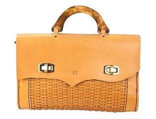 4324be4105 Δερμάτινη τσάντα χειρός
