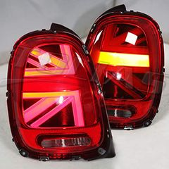 MINI COOPER F55-56 LED TAILLIGHTS 2014 - RED / ΠΙΣΩ ΦΑΝΑΡΙΑ ...