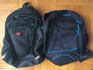 2180a622a2 2 backpack Swissgear + Diplomat