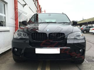 BMW X5 E70 SPORT GRILLE WITH TWIN BAR LOOK GLOSS BLACK/ ΚΑΡΔ...