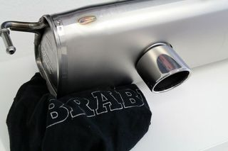 SMART FORTWO BRABUS 453 ΟRIGINAL EXHAUST