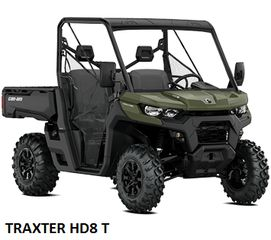 CAN-AM  TRAXTER HD8 2020 MODELS