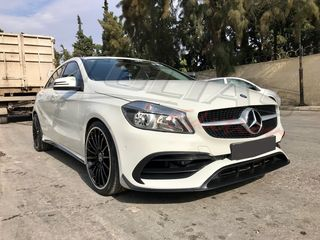 MERCEDES BENZ A CLASS W176 FACELIFT 16-18 FULL BODY KIT look A45 AMG