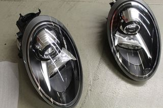 Eμπρός φανάρια PORSCHE 991 Bi-Xenon Headlights in Black, inc...
