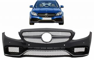 Front Bumper suitable for MERCEDES C-Class W205 S205 C205 A2...