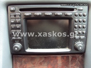 Mercedes Comand 2.0 (Navi, CD, FM/AM, TV, TEL) για CLK-Class...