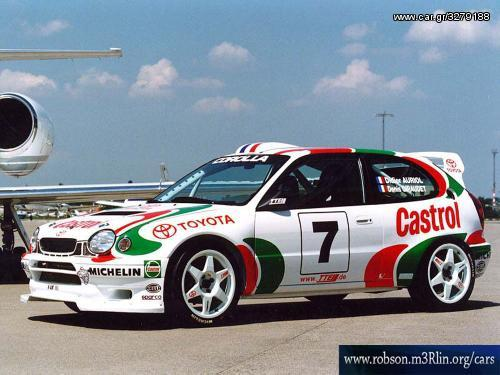 toyota corolla wrc body kit - € 700 - Car gr