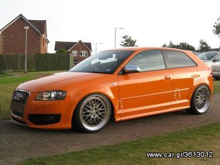 AUDI A3 8P 3 DOOR SIDE SKIRTS - S3 LOOK  ΠΡΟΣΦΟΡΑ !!!!!!!!!!!!!!!