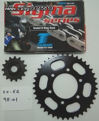ZX-6R 98-01 KIT ΓΡΑΝΑΖΙΩΝ  BE CREATIVE! DON'T COPY ΠΡΟΣΦΟΡΑ!!!!!
