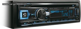RADIO CD USB MP3 AUX BLUETOOTH ALPINE CDE-193BT....Sound☆Street....