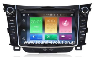 LM DIGITAL X156 HYUNDAI I30 12>17 ANDROID 9/4GB RAM/8core 2 ΧΡΟΝΙΑ ΓΡΑΠΤΗ ΕΓΓΥΗΣΗ www.sound-evolution.gr