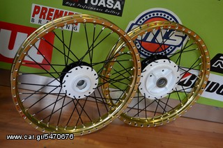 DRAG WHEELS KIT FOR X-135(RACING BOY LIGHTWEIGHT GOLD)