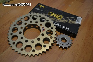 CONVERSION 520 R1 2004+ AFAM CHAIN RENTHAL SPROCKETS