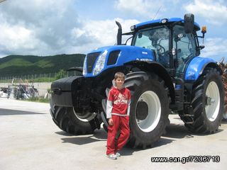 New Holland  T7260