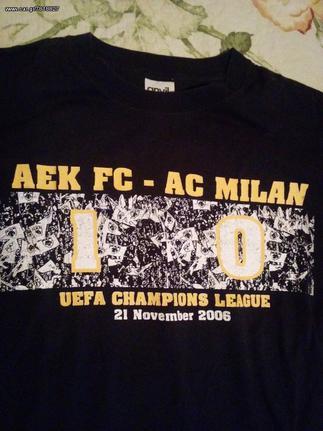 2 T Shirt Aek Champions League 20 Eur Car Gr