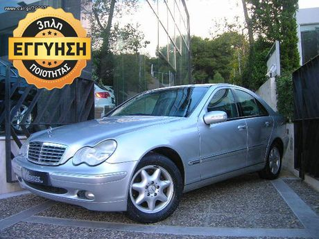 Mercedes-Benz C 200 1.8 AUTOMATIQUE ΑΛΙΒΙΖΑΤΟΣ  '03 - € 7.990 EUR