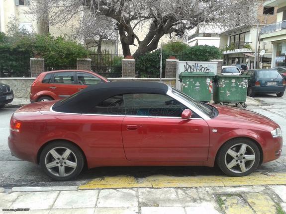 Audi A4 Cabrio 18 Turbo 07 11400 Cargr
