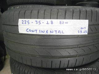 4TMX 225-35-18 87W CONTINENTALCONTISPORT CONTACT5 DOT 19.13 *BEST CHOICE TYRES*