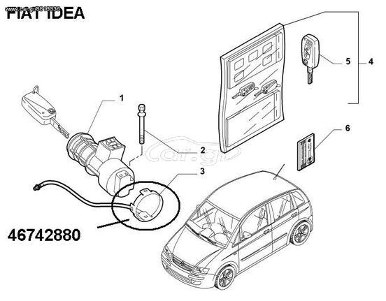 Fiat Idea 46742880