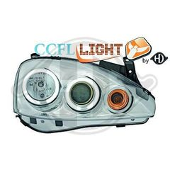 OPEL CORSA C ANGEL EYES XΡΩΜΙΟ/CHROME