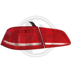 VW PASSAT TYPE 3C ΦΑΝΑΡΙΑ ΠΙΣΩ LED KOKKINA/RED