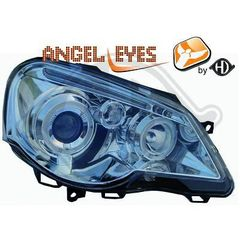 VW POLO 9N3 ANGEL EYES ΧΡΩΜΙΟ/CHROME