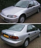 Honda - CIVIC 12/91-12/95 SDN