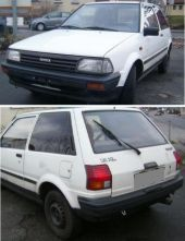 Toyota - STARLET EP70 03/85-2/90