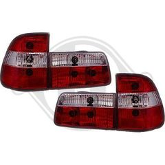 BMW SERIES 5 E39 ΠΙΣΩ ΦΑΝΑΡΙΑ LED ΚΟΚΚΙΝΑ-ΛΕΥΚΑ/RED-WHITE