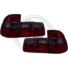 BMW SERIES 5 E39 ΠΙΣΩ ΦΑΝΑΡΙΑ LED ΚΟΚΚΙΝΑ-MAYPA/RED-BLACK