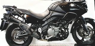 Race Guns Exhausts Hexagon Black SUZUKI V-STROM 650